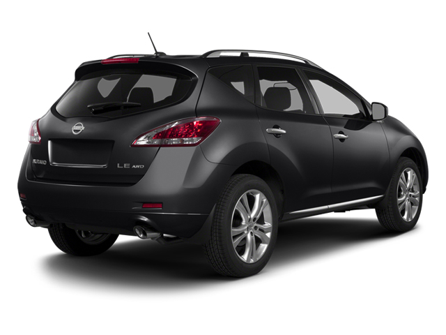 Sapphire Black Metallic 2014 Nissan Murano Pictures Murano Utility 4D LE AWD V6 photos rear view