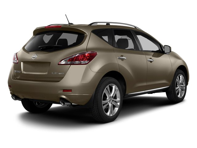 Tinted Bronze Metallic 2014 Nissan Murano Pictures Murano Utility 4D LE AWD V6 photos rear view