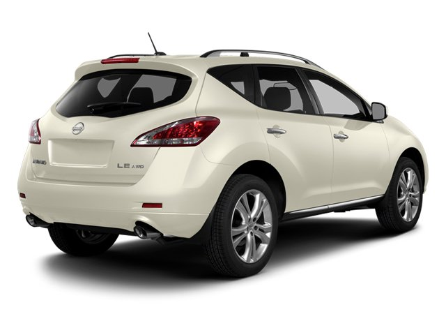Pearl White 2014 Nissan Murano Pictures Murano Utility 4D LE AWD V6 photos rear view