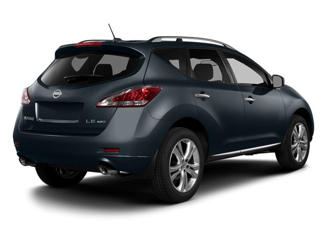 Graphite Blue Metallic 2014 Nissan Murano Pictures Murano Utility 4D LE AWD V6 photos rear view