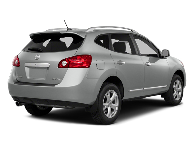 Frosted Steel 2014 Nissan Rogue Select Pictures Rogue Select Utility 4D S 2WD I4 photos rear view