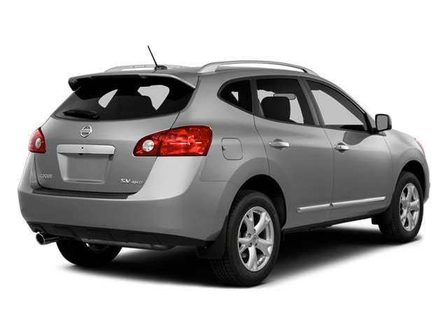 Brilliant Silver 2014 Nissan Rogue Select Pictures Rogue Select Utility 4D S 2WD I4 photos rear view