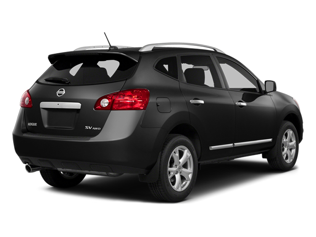 Super Black 2014 Nissan Rogue Select Pictures Rogue Select Utility 4D S 2WD I4 photos rear view