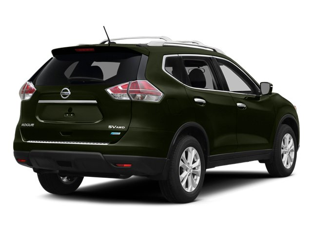 Midnight Jade 2014 Nissan Rogue Pictures Rogue Utility 4D SL AWD I4 photos rear view