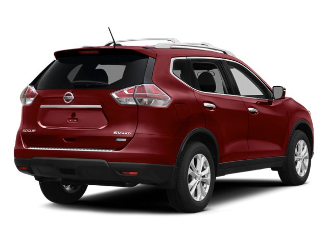 Cayenne Red 2014 Nissan Rogue Pictures Rogue Utility 4D SL AWD I4 photos rear view