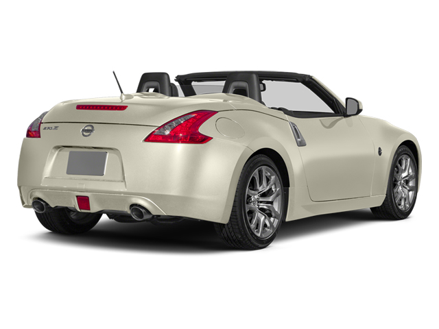 Pearl White 2014 Nissan 370Z Pictures 370Z Roadster 2D Touring V6 photos rear view