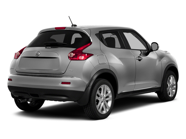 Brilliant Silver 2014 Nissan JUKE Pictures JUKE Utility 4D NISMO 2WD I4 Turbo photos rear view