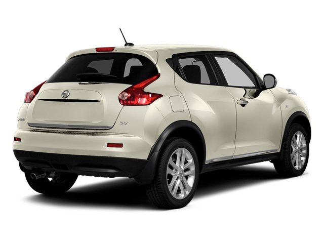 White Pearl 2014 Nissan JUKE Pictures JUKE Utility 4D NISMO 2WD I4 Turbo photos rear view