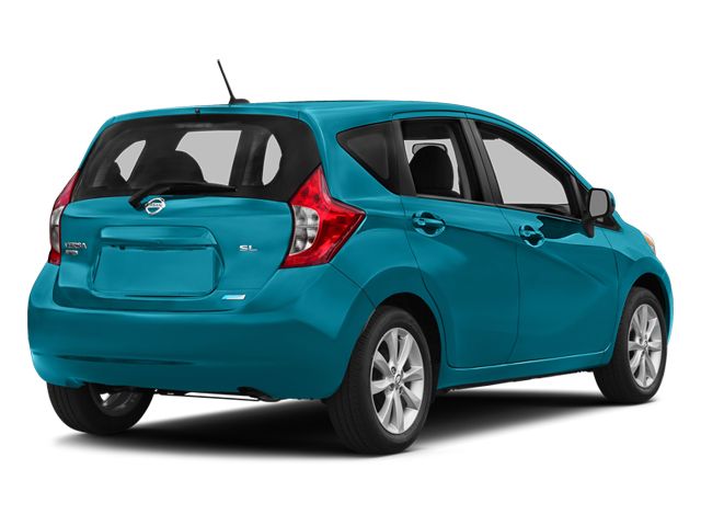 Metallic Peacock 2014 Nissan Versa Note Pictures Versa Note Hatchback 5D Note S Plus I4 photos rear view