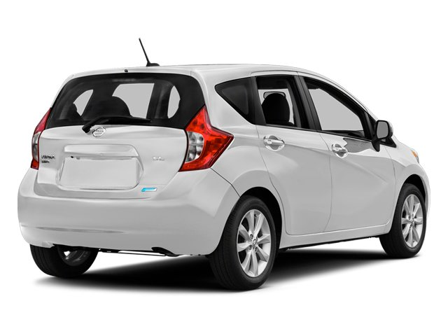 Aspen White Pearl 2014 Nissan Versa Note Pictures Versa Note Hatchback 5D Note S Plus I4 photos rear view