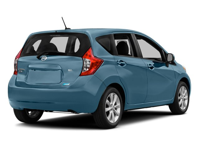 Morningsky Blue Metallic 2014 Nissan Versa Note Pictures Versa Note Hatchback 5D Note S Plus I4 photos rear view