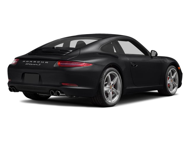 Black 2014 Porsche 911 Pictures 911 Coupe 2D Carrera S Anniversary H6 photos rear view