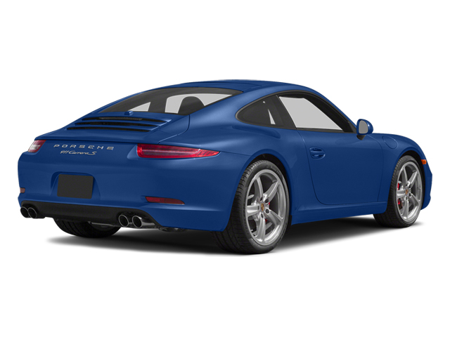 Sapphire Blue Metallic 2014 Porsche 911 Pictures 911 Coupe 2D Turbo AWD H6 photos rear view