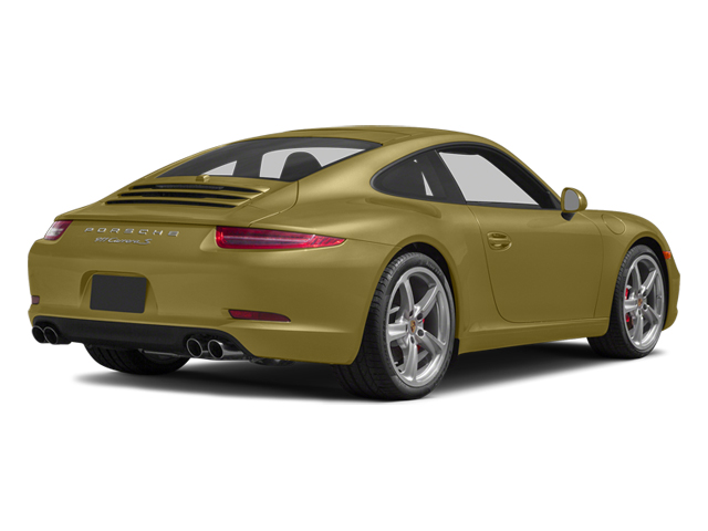 Lime Gold Metallic 2014 Porsche 911 Pictures 911 Coupe 2D Turbo AWD H6 photos rear view