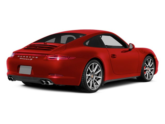 Guards Red 2014 Porsche 911 Pictures 911 2 Door Coupe photos rear view