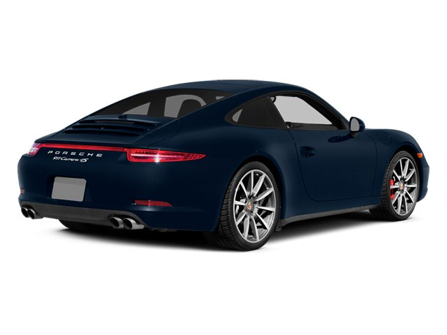 Dark Blue Metallic 2014 Porsche 911 Pictures 911 Coupe 2D 4 AWD H6 photos rear view