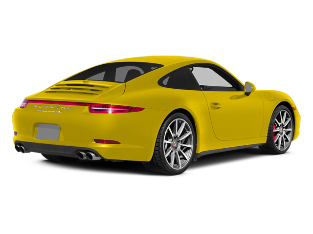 Racing Yellow 2014 Porsche 911 Pictures 911 Coupe 2D 4 AWD H6 photos rear view