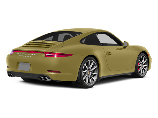 Lime Gold Metallic 2014 Porsche 911 Pictures 911 Coupe 2D 4 AWD H6 photos rear view