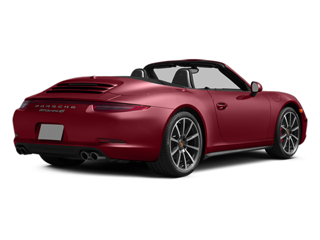 Amaranth Red Metallic 2014 Porsche 911 Pictures 911 Cabriolet 2D 4 AWD H6 photos rear view