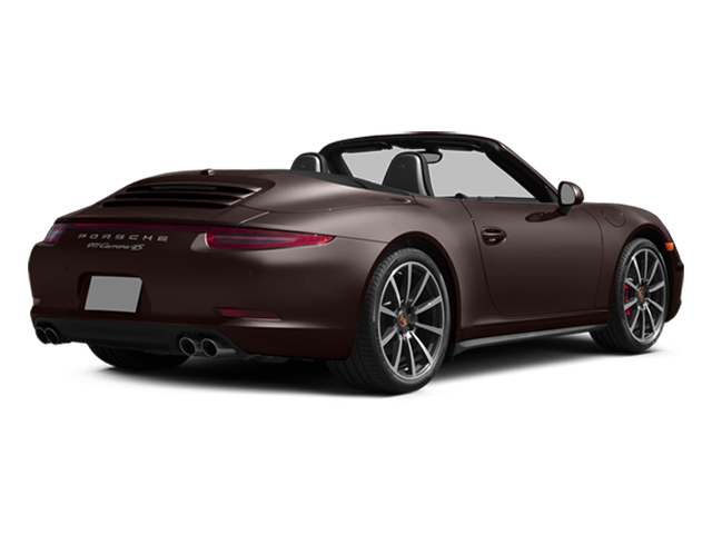 Mahogany Metallic 2014 Porsche 911 Pictures 911 Cabriolet 2D 4 AWD H6 photos rear view