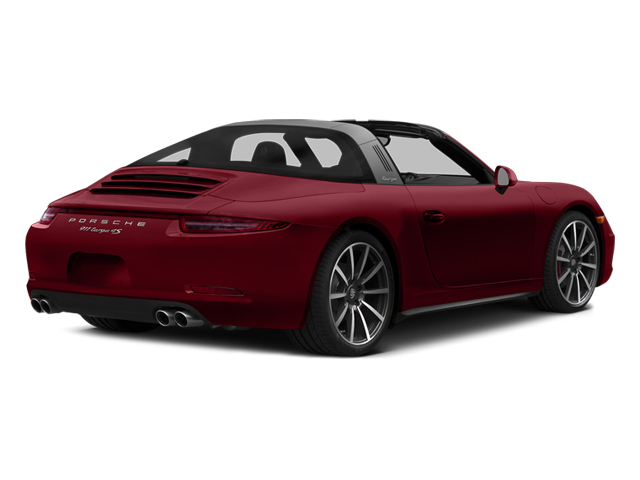 Amaranth Red Metallic 2014 Porsche 911 Pictures 911 Coupe 2D 4S Targa AWD photos rear view