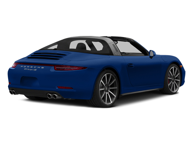 Sapphire Blue Metallic 2014 Porsche 911 Pictures 911 Coupe 2D 4S Targa AWD photos rear view