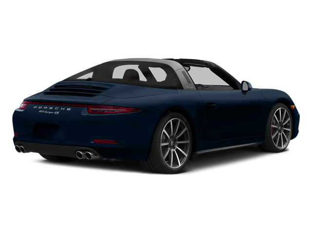 Dark Blue Metallic 2014 Porsche 911 Pictures 911 Coupe 2D 4S Targa AWD photos rear view