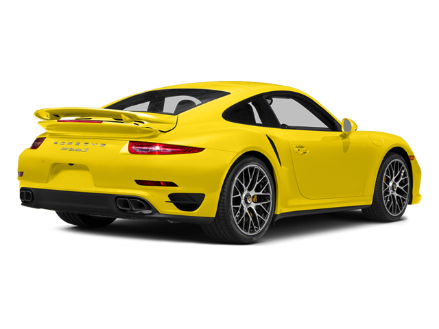 Racing Yellow 2014 Porsche 911 Pictures 911 Coupe 2D Turbo S AWD H6 photos rear view