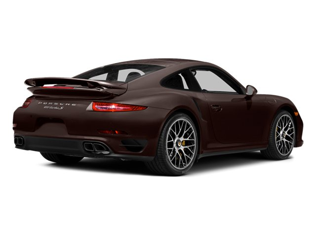 Mahogany Metallic 2014 Porsche 911 Pictures 911 Coupe 2D Turbo S AWD H6 photos rear view