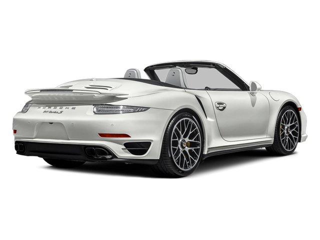 White 2014 Porsche 911 Pictures 911 Cabriolet 2D AWD H6 Turbo photos rear view