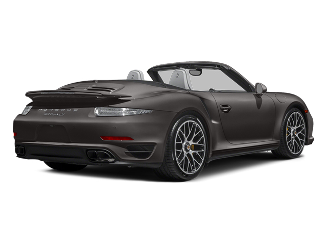 Anthracite Brown Metallic 2014 Porsche 911 Pictures 911 Cabriolet 2D S AWD H6 Turbo photos rear view