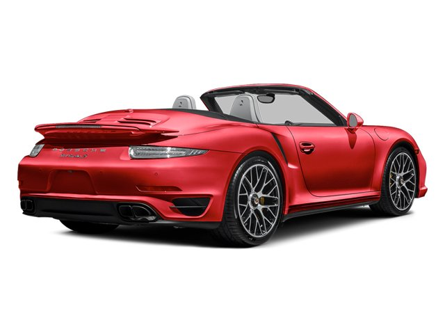Guards Red 2014 Porsche 911 Pictures 911 Cabriolet 2D S AWD H6 Turbo photos rear view