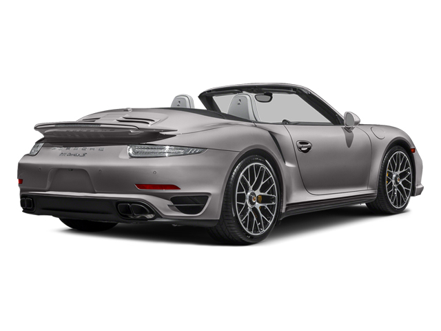 Agate Gray Metallic 2014 Porsche 911 Pictures 911 Cabriolet 2D S AWD H6 Turbo photos rear view