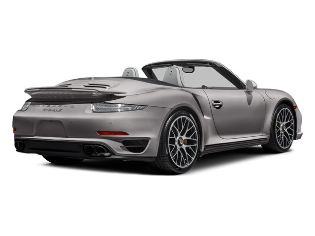 Agate Gray Metallic 2014 Porsche 911 Pictures 911 Cabriolet 2D AWD H6 Turbo photos rear view