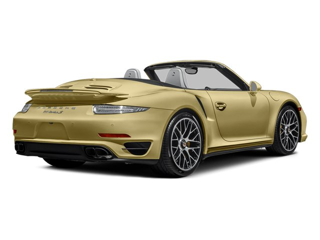 Lime Gold Metallic 2014 Porsche 911 Pictures 911 Cabriolet 2D S AWD H6 Turbo photos rear view