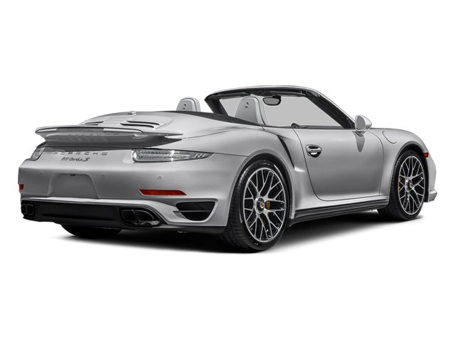 GT Silver Metallic 2014 Porsche 911 Pictures 911 Cabriolet 2D AWD H6 Turbo photos rear view
