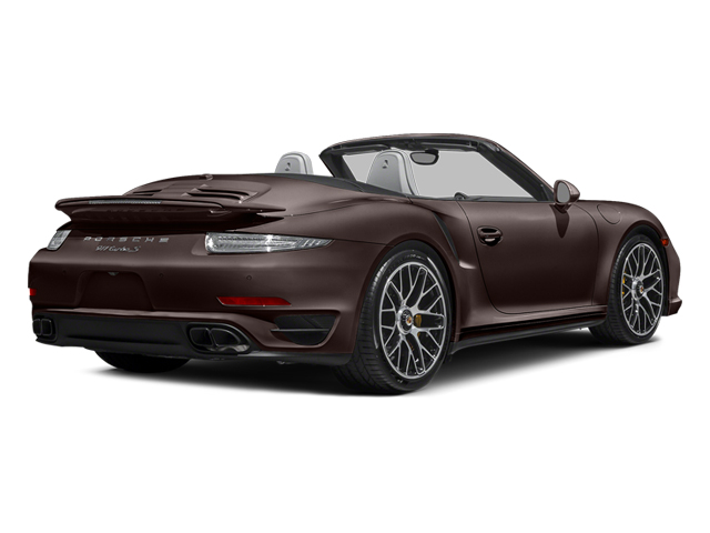 Mahogany Metallic 2014 Porsche 911 Pictures 911 Cabriolet 2D S AWD H6 Turbo photos rear view