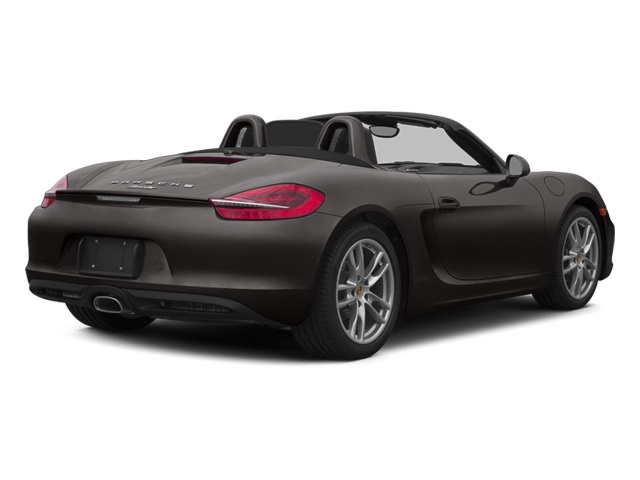 Anthracite Brown Metallic 2014 Porsche Boxster Pictures Boxster Roadster 2D H6 photos rear view