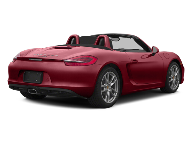 Amaranth Red Metallic 2014 Porsche Boxster Pictures Boxster Roadster 2D H6 photos rear view