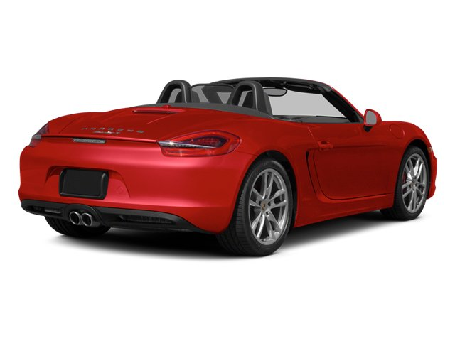 Guards Red 2014 Porsche Boxster Pictures Boxster Roadster 2D S H6 photos rear view