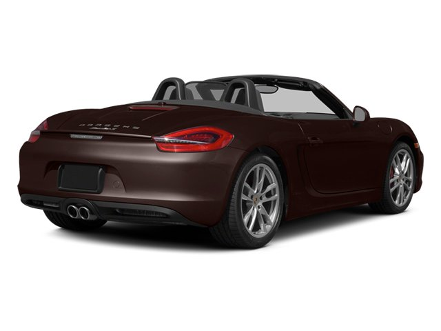 Mahogany Metallic 2014 Porsche Boxster Pictures Boxster Roadster 2D S H6 photos rear view