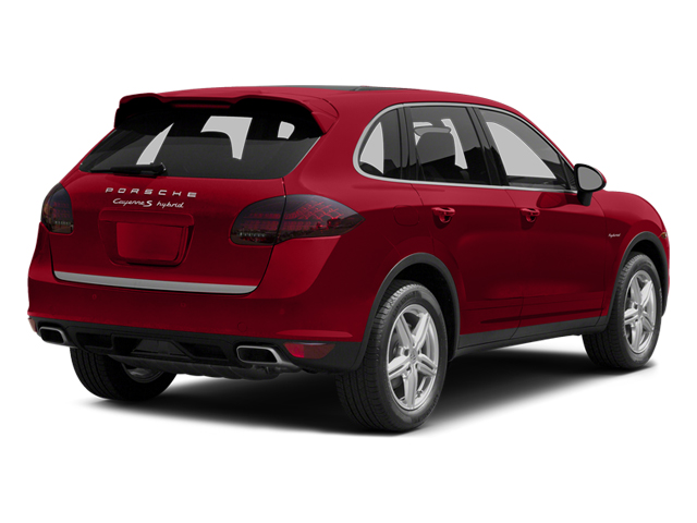 Carmine Red 2014 Porsche Cayenne Pictures Cayenne Utility 4D S AWD Hybrid V6 photos rear view