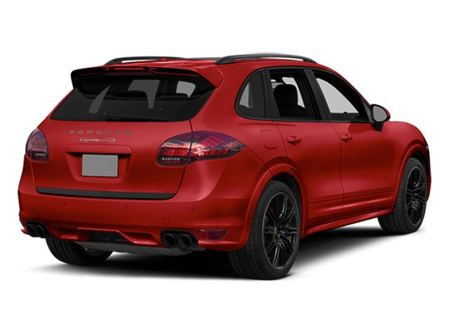 Carmine Red 2014 Porsche Cayenne Pictures Cayenne Utility 4D GTS AWD V8 photos rear view