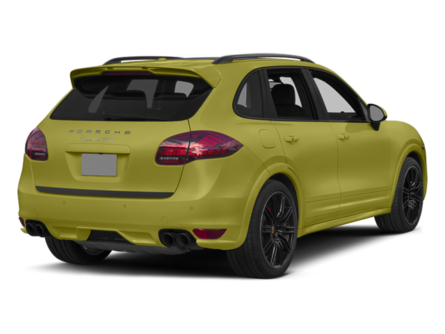 Peridot Metallic 2014 Porsche Cayenne Pictures Cayenne Utility 4D GTS AWD V8 photos rear view