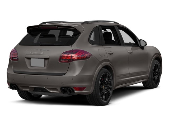 Meteor Gray Metallic 2014 Porsche Cayenne Pictures Cayenne Utility 4D GTS AWD V8 photos rear view