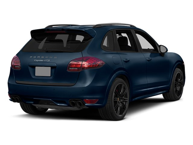 Dark Blue Metallic 2014 Porsche Cayenne Pictures Cayenne Utility 4D GTS AWD V8 photos rear view