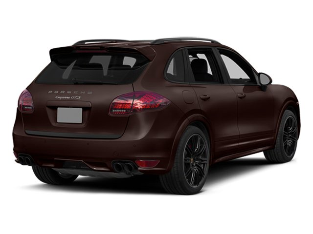 Mahogany Metallic 2014 Porsche Cayenne Pictures Cayenne Utility 4D GTS AWD V8 photos rear view