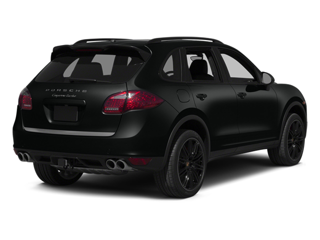 Jet Black Metallic 2014 Porsche Cayenne Pictures Cayenne Utility 4D S AWD V8 Turbo photos rear view