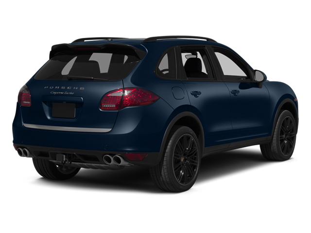 Dark Blue Metallic 2014 Porsche Cayenne Pictures Cayenne Utility 4D S AWD V8 Turbo photos rear view