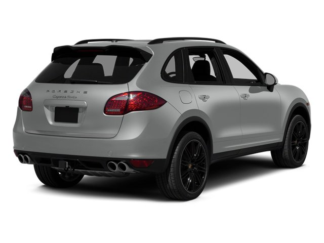 Classic Silver Metallic 2014 Porsche Cayenne Pictures Cayenne Utility 4D AWD V8 Turbo photos rear view